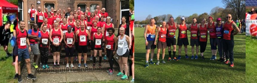 Stopsley Striders at Races