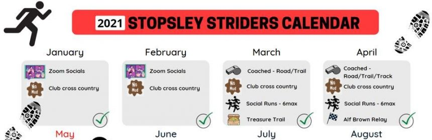 Stopsley Striders 2021